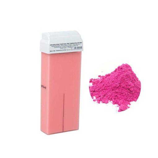 Harsroller Pink depilatory waxroller