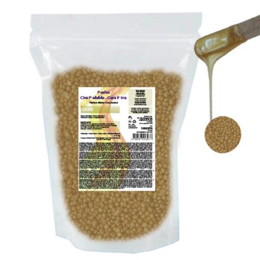 Hot wax Gold ontharingshars